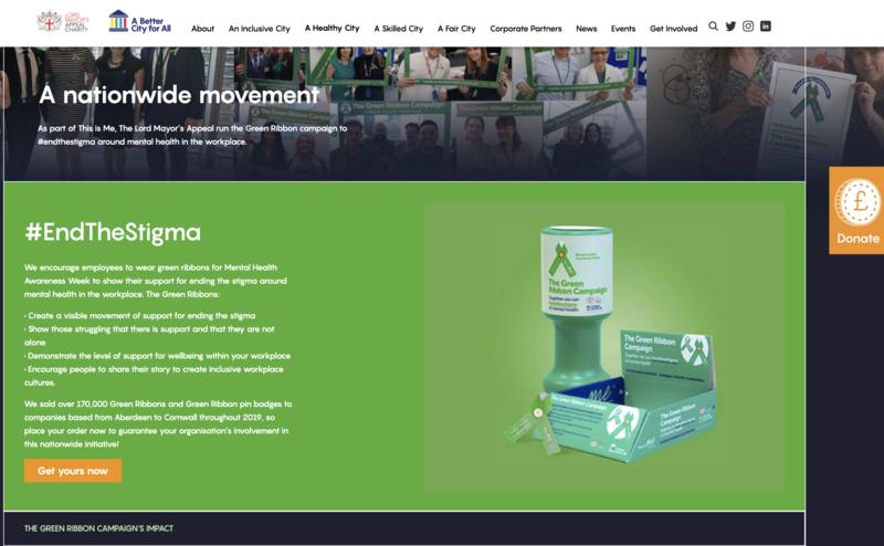 The Green Ribbon campaign - End the Stigma
