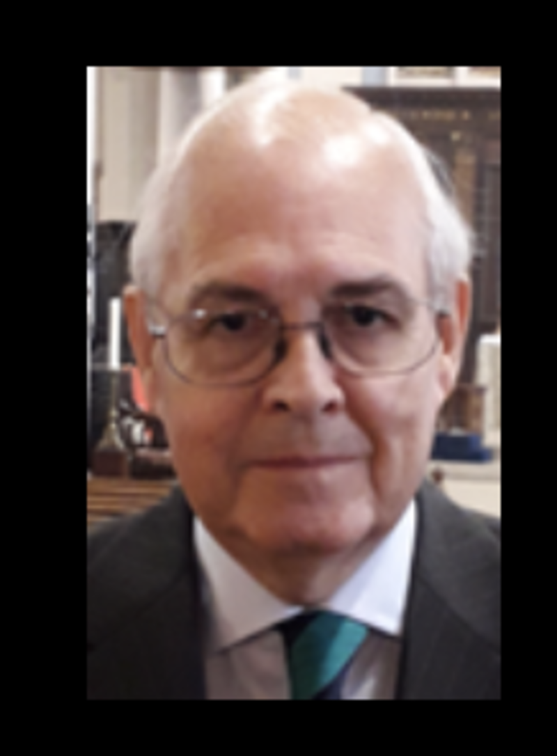 Sad loss on 5th April of Stephen Harrow FKC, Director of the City Singers