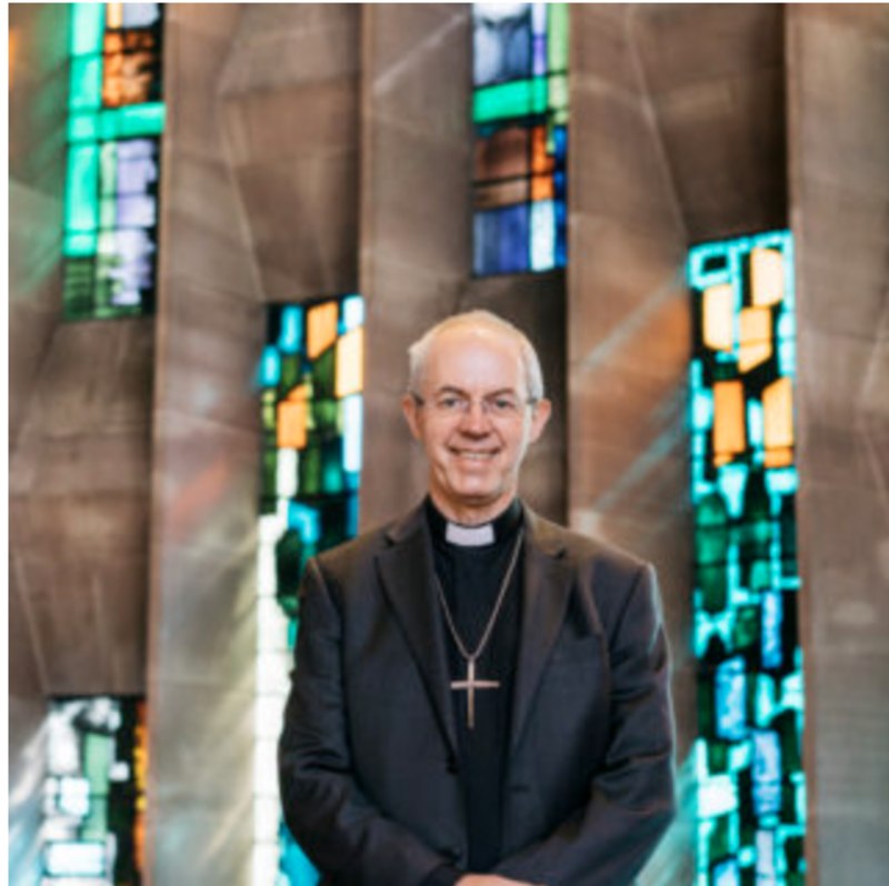 Archbishop of Canterbury, Justin Welby, has launched a free national phone line as a simple new way to bring worship and prayer into people's homes while church buildings are closed because of the coronavirus.