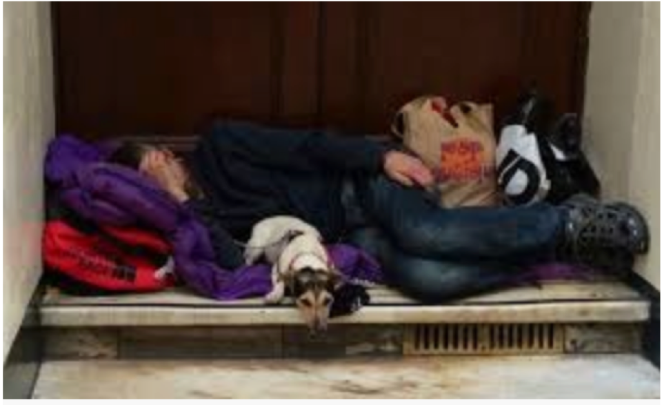 I want to help support homeless people and rough sleepers locally
